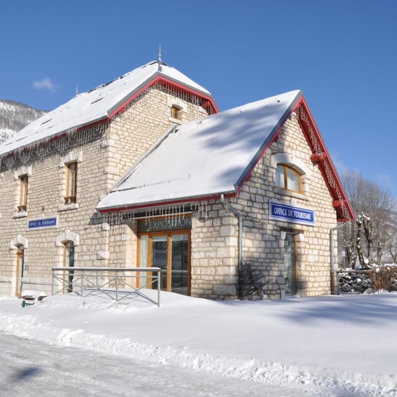 Ancienne gare de tram, Office de Tourisme de Lans en Vercors