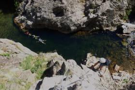 Activité encadrée Via ferrata - Ardèche Equilibre