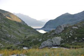 Refuge des Marches : lac de bissorte