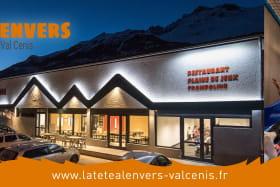 La Tête à l'Envers, plaine de jeux à Val Cenis Sollières