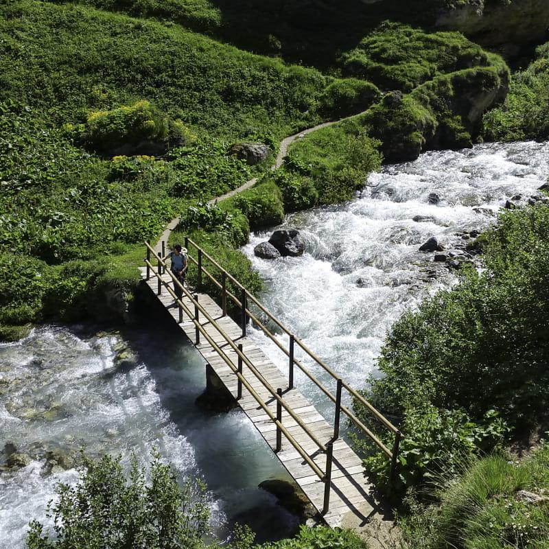 Gorges de Montaimont à Pralognan-la-Vanoise
