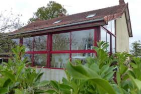 Gite Les Saudais à Limoise dans l'Allier en AUVERGNE, Jardin