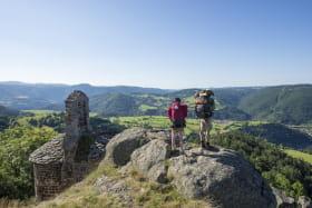 Saint Jacques à pied : de Condrieu au Puy en Velay