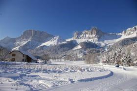 Première neige en décembre 2014