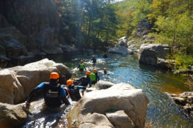 Canyoning avec Face Sud - Ghost Canyon