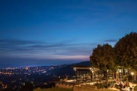 L'Ermitage Cuisine-à-manger - Vue panoramique