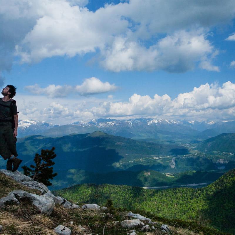 Fabrice Vaccari accompagnateur en montagne
