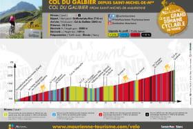 Col du Galibier depuis Saint Michel de Maurienne