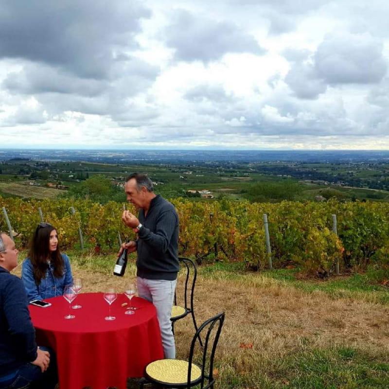 Vigneron d'un jour.. Vigneron toujours.. à la découverte du vignoble Beaujolais