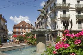 Centre ville d'Aix-les-Bains