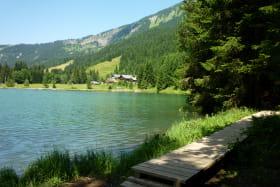 Tour du lac des Plagnes