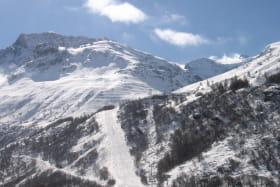Anselmet Fabien, location vacances avec vue sur les pistes de ski à Bonneval sur Arc
