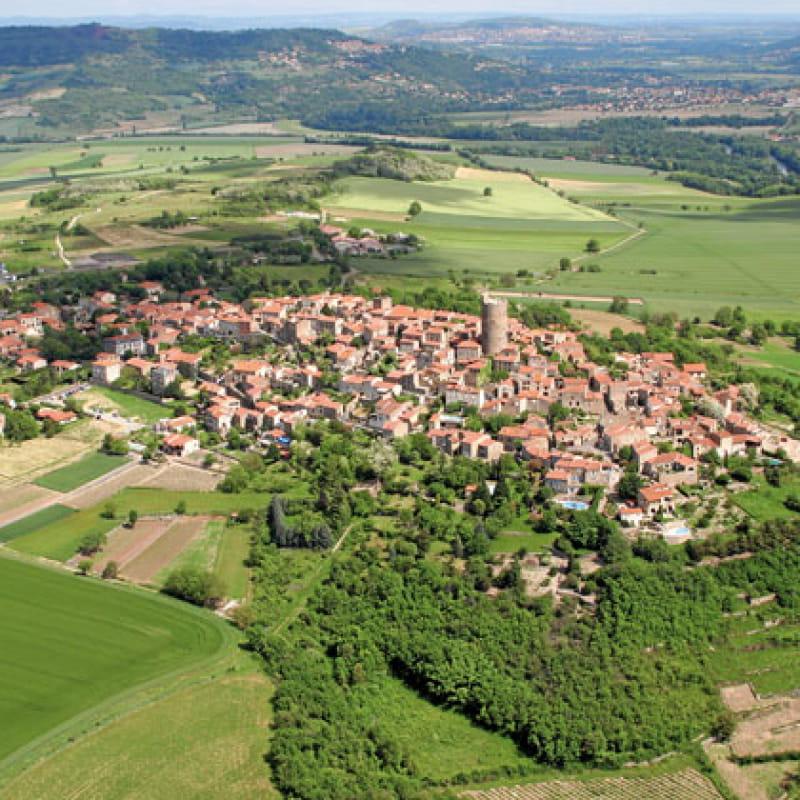 Visite du village de Montpeyroux
