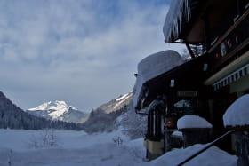 Au bord du Lac de Montriond