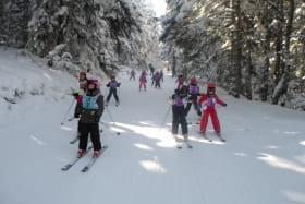 Cours de ski/snow