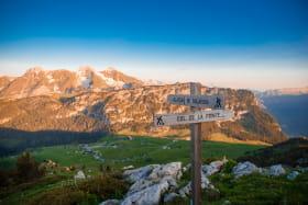 Vue sur le Plateau - Panorama - Signalétique