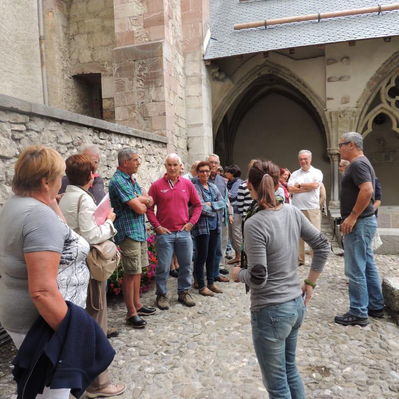 Visite guidée à l'abbaye d'Abondance