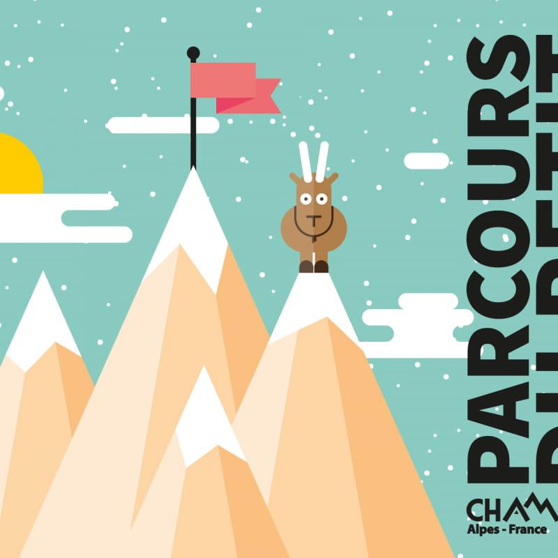 Visuel Parcours du Petit Montagnard hiver