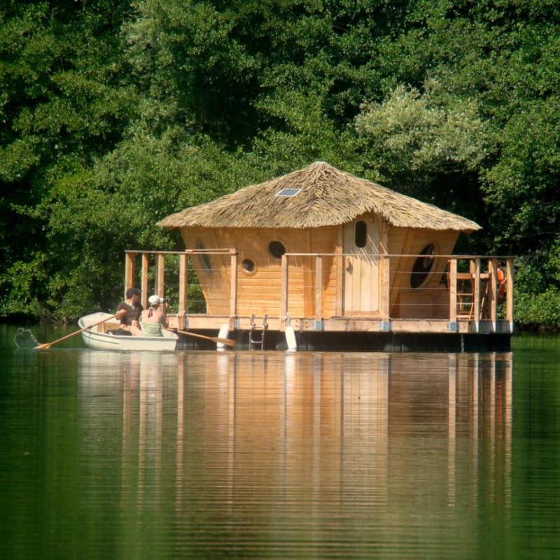 Chambre flottante Zenzilot au Lac bleu