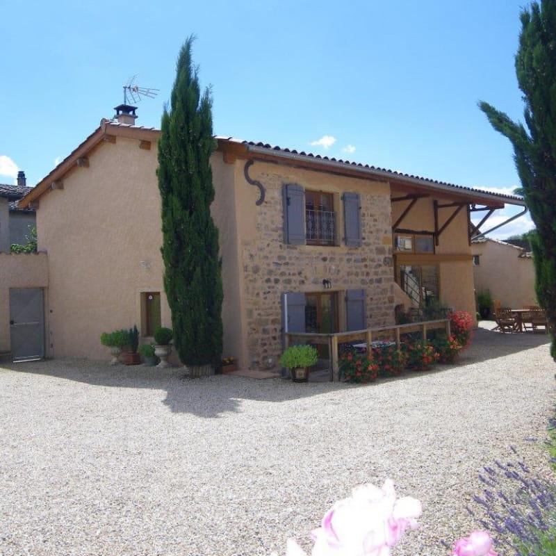 Gîte des Bonnerues à LANCIE (Rhône - Beaujolais).