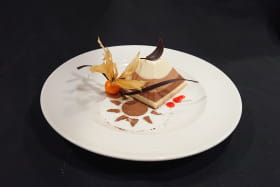 Dessert - Pyramide trois chocolat