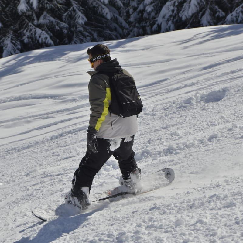 Snoawboard Abondance Domaine skiable