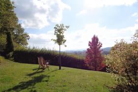 vue de la terrasse orientée plein sud