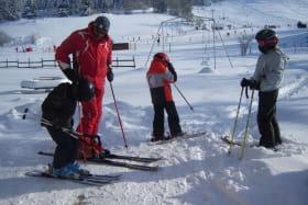 Pistes de ski au départ du gîte