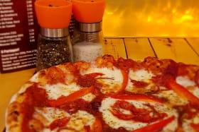 Pizza mozzarella italienne