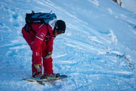 Cours collectifs et stages de snowboard
