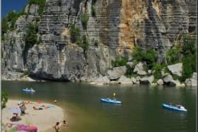Camping les Paillotes en Ardèche