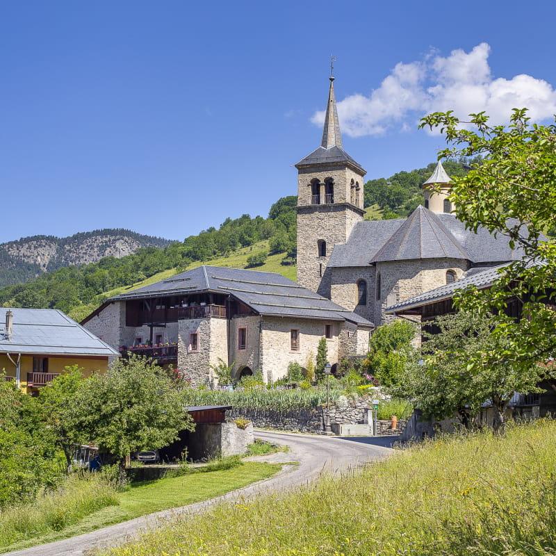 Visite de l'Eglise Saint Martin et de la fromagerie à Villargerel