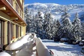 terrasse hiver Le Champ-rousse