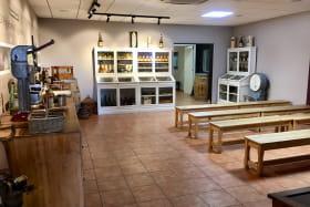 Salle de dégustation - Domaine Eyguebelle