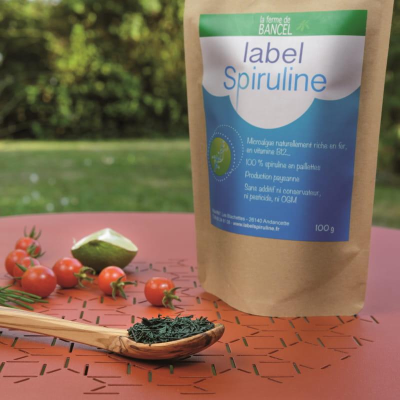 Label Spiruline