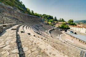 Gradins du théâtre antique