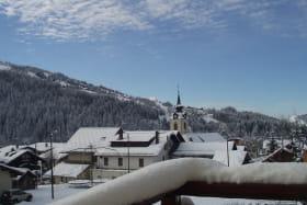 Eglise vue du balcon