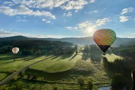 Vue montgolfière