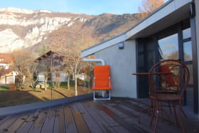 Terrasse vue Salève
