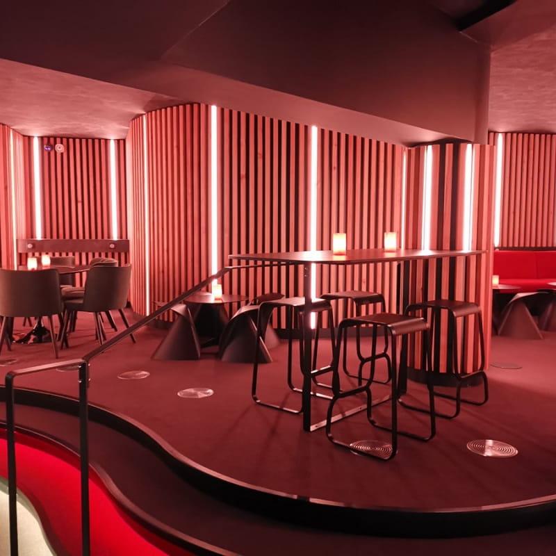 Intérieur Lounge Roc