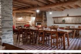 Très belles chambres d'hôtes style montagne cooconing à Val Cenis Bramans.