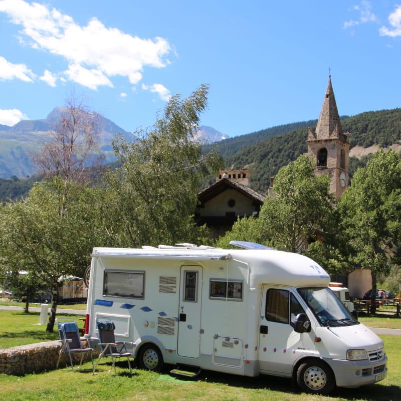 Camping Le Val d'Ambin en Juillet
