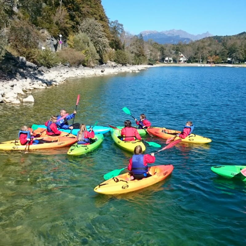 Sortie rivière kayak Asbel à Valbonnais