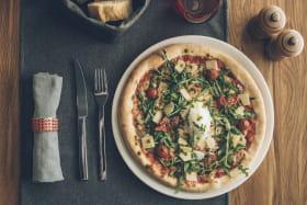 Exemple de pizza réalisée au Solario