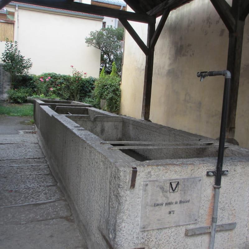 Le lavoir du Boccard