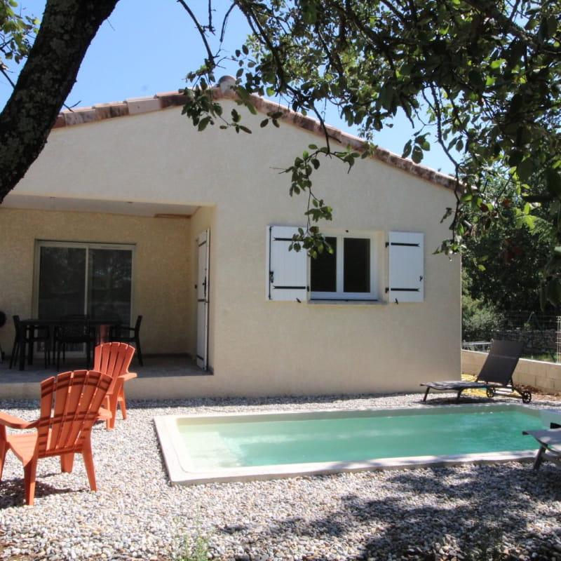Gîte les Chênes avec piscine privée