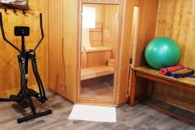 Salle Sauna & Fitness