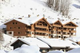 Extérieur hiver Les Grandes Alpes