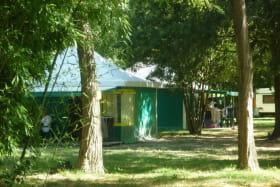 Roulottes au camping du Lion