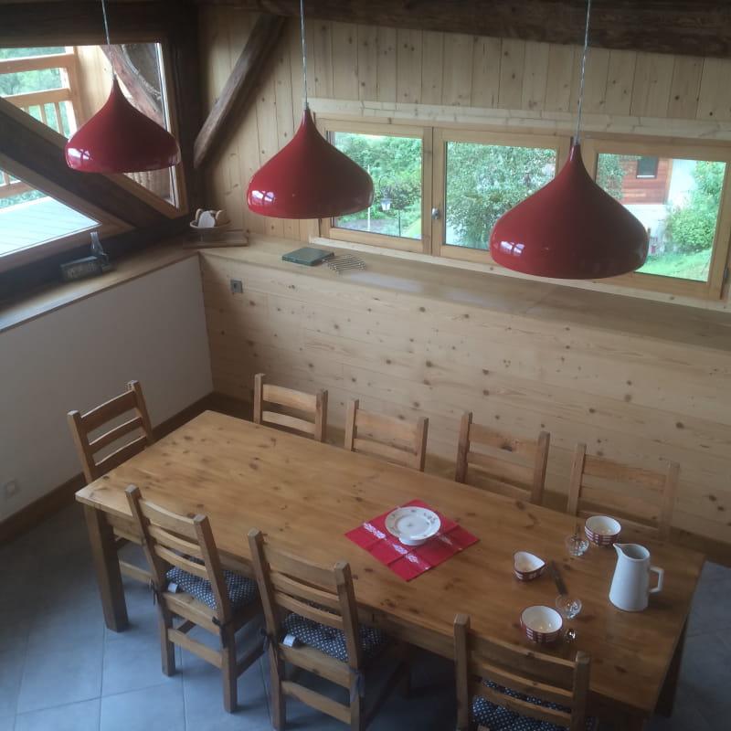 Vue salle à manger